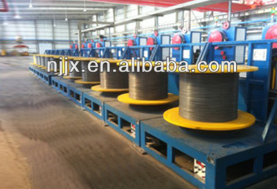 Vertical NO-Stop Quincuncial Wire Winding Machine
